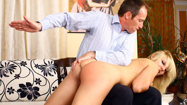 Unexperienced Smacking Sequence Hana's Spanking