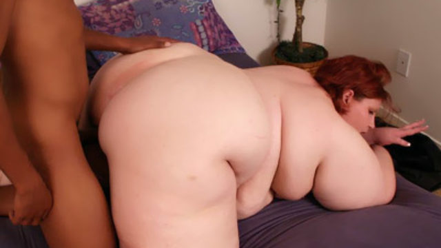 Fats Hindquarters Bbw Does Interracial