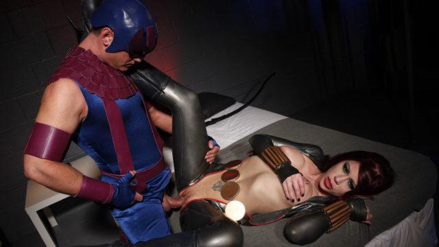 Marvel Female Heads Down On Her Stud Heroine