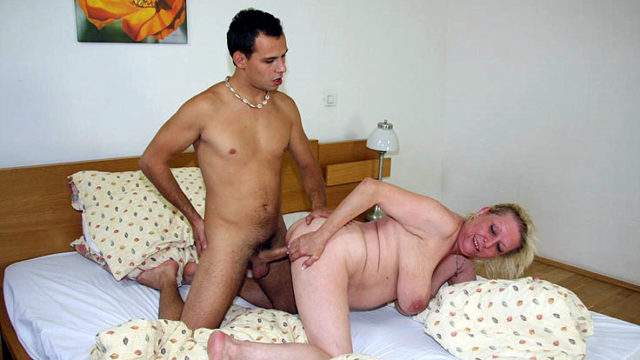 Dick Meat Makes Grandmother Blessed