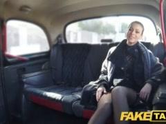 Faux Cab Czech Doll Thirsts A Stiff Salami