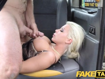 Faux Cab Suck Off Choking Mommy Will Get Backseat Facial Cumshot