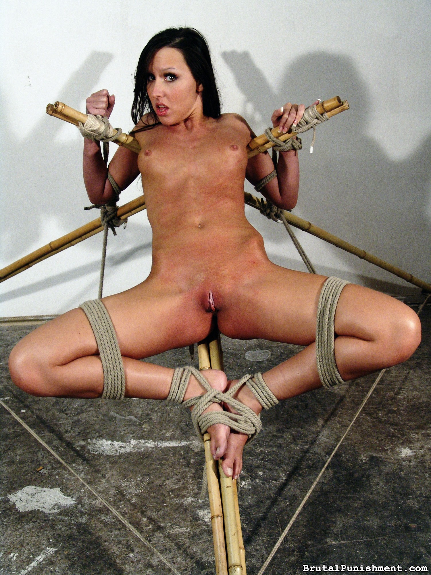 Kinky Ache Biotch Nicole Suffers Some Other Restrain Bondage Consultation