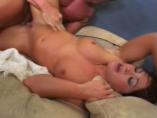 Chubby Titted Brown-haired Cougar Aria Getting Cunny Bashed From Ass