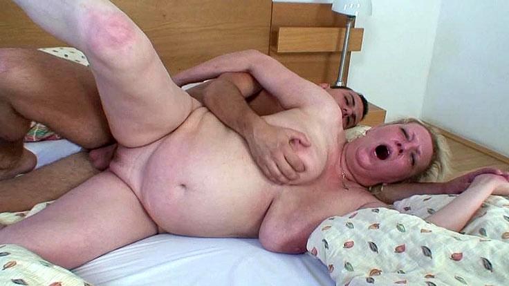 Moist Grandma Vulva Porked Firm