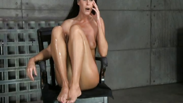 Restrain Bondage Breeding Leaves Her Wiggling