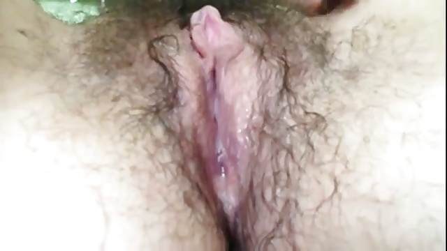 M Abraham Hairy Female Orgasm Contraction & Squirt
