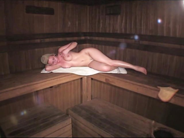 Indeed Super Hot Stunner Shot Within The Sauna!