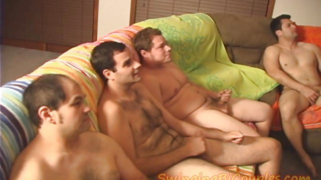 Five Bi Guys And 1 Cum Slurping Wife