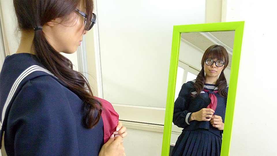 Azusa Misaki In Uniform Plumbed At College