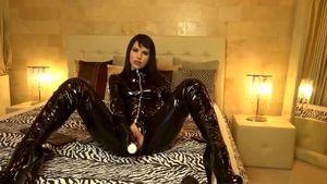 True Mistress In Dark-hued Spandex