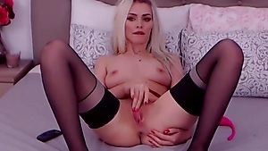Warm Platinum-blonde Needs Your Boner