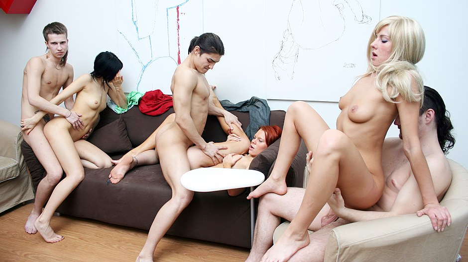 See School Fuckfest Movie With A Sizzling Dirty Brown-haired